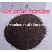 F20, 24, 36, 60 Alumine fondue marron de maille pour le matériel réfractaire