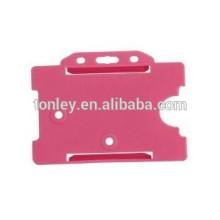 customer Logo plastic id business cards holders cheap