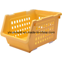 Plastic Sundries Storage Rack Mold