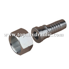 Stainless steel hydraulic hose end fittings