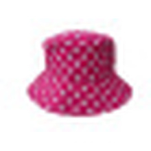 Bucket Hat with Dotted Fabric (BT041)
