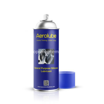 Spray lubrificante a base di silicone