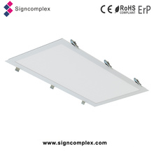 Super Slim White Housing Square Commercial LED Paneles de luz