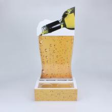 Maßgeschneiderte Acrylweinanzeige für die Bar