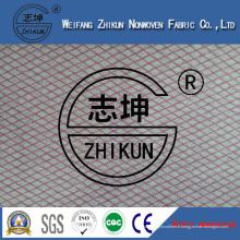 Tissu non-tissé de Viscose Spunlace de 30% pour le propre (22mesh et 18mesh)