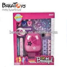 Engraçado plástico elétrico conjunto beleza meninas brinquedos