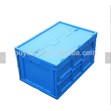 Large Volume solid plastic collapsable turnover pallet box