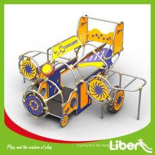 PE Train Design Außenwerbung Spielplatzausrüstung, Kinderplastikspielplatz Sets LE.PE.004