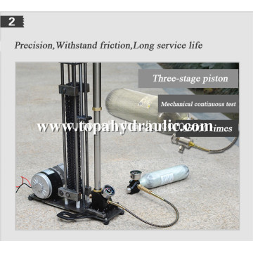 Fiber tank pump electric air bottle for pcp