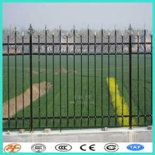 традиционный Европейский стальной частокол ограды