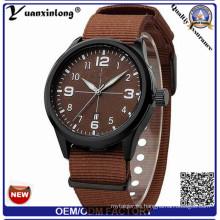 Yxl-494 venta caliente Nato correa de nylon reloj al por mayor de alta calidad militar encantador ejército deporte Casual mujer reloj de pulsera de los hombres