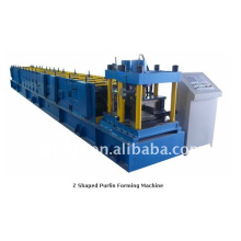 forward automatic z angle roll forming machine