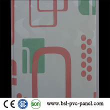 India Hotselling panel de pared laminado de PVC 25cm 8mm