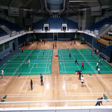 Indoor professionelle Badminton-Court-Matten