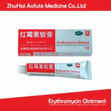 Pomada de eritromicina OTC Medicial Pomada
