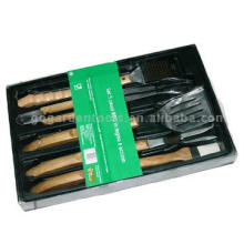 5 piece BBQ tool set