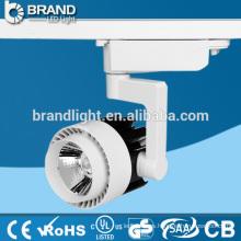 Alta calidad CRI> 80 110lm / w COB LED Track Light 30W CE RoHS Aprobación
