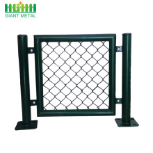 PVC+green+chain+link+mesh+panels+for+sale