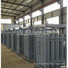 Cylindre à gaz en acier sans soudure haute pression 99,999% Pureté Prix de l'essence à l'hélium