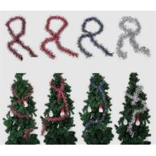 Weihnachtsbaum Lametta hängende Verzierung