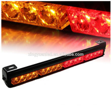3 Gtoup amber,red blue green white led traffic advisor advising emergency warning strobe flash light bar