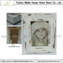 Weiße Plain Wooden Frames Großhandel