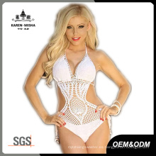 Crochet One Piece Sexy Women Bikinis Costume