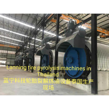 Lanning Pyrolysis of Scrubbers Rubber to Energy