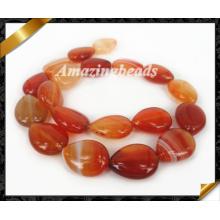 Bijoux en pierres précieuses, agate Hot Sale à rayures en dentelle en pierres précieuses (AG011)
