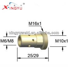 Cobre Binzel 501D suporte da ponta / mig tocha ponta de contato