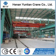 Trolley Traveling 25 Ton Overhead Crane For Warehouse Magnetic Overhead Crane