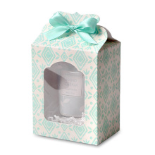 Small Wedding Crown Candy Gift Box With Window