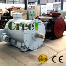 Постоянного магнита 1 МВт синхронный генератор мощностью три фазы переменного тока