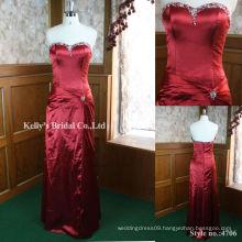 New arrival sheath sweetheart neckline long evening dress