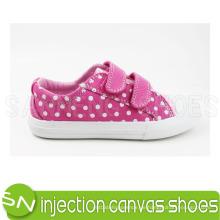 Injektion Leinwand Schuhe Kinder Leinwand Schuhe (SNC-01046)