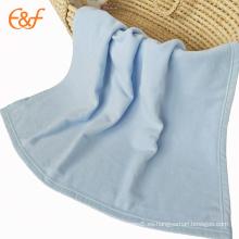 Manta de lana polar anti-pilling sólida personalizada bebé barato