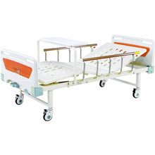 Hospital Beds Movable Full-Fowler Medical Bed with ABS Headboards