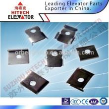Guia de elevador Clipes de trilho, peças de elevação