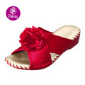 Pansy Comfort Shoes Sofa Material Upper Indoor Slippers For Ladies