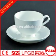 P&T chaozhou factory bone China tea set, elegant porcelain coffee cup set