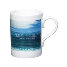 Peut-être Mug, 10 oz Can Bone China Mug, 10 oz Fine Bone China Mug