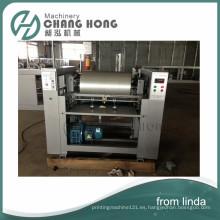 Máquina de impresión flexográfica de alta velocidad del bolso que hace punto