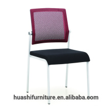 T-082S mesh back visitor chairs without arms