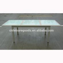 Mesa de extensión al aire libre de la moda de la calidad de aluminio