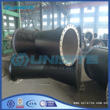 Accesorios de tuberías de acero Y