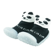 toddler baby custom 3d animal cartoon rubber sole socks shoes