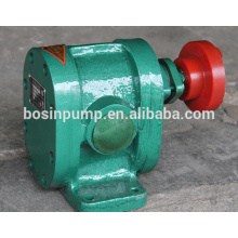 2CY series gear pump 2.5 Mpa high pressure low discharge boile fuel oil conveyor booster pump in oil deliver