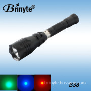 Tactical Waterproof Rechargeable CREE LED Aluminum Hunting Torch