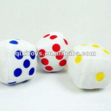 красочные мягкие плюшевые кубики