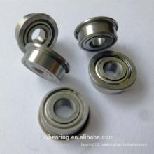 Hot sale electrical motor miniature FR3 pressed steel flange bearing